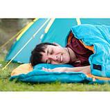 Теплый спальный мешок туристический для рыбалки и кемпинга в палатку Bestway 205*90 см спальник одеяло 68101, фото 5