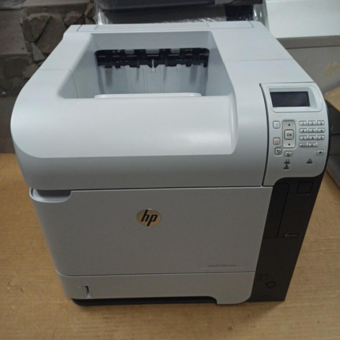 Принтер HP LaserJet 600 M602 DN (601 / 603) пробіг 119 тис. сторінок з Європи