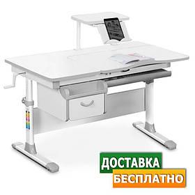 Детская парта стол растущая для учебы Evo-kids EVO-40