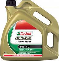 Моторное масло Castrol Edge Titanium Turbo Diesel 5W-40 4л