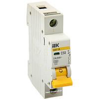 Автоматический выключатель ВА47-29 1Р 50А C50 4.5кА С IEK