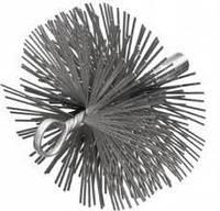 Щетка плоская для чистки дымоходной трубы (d 175)