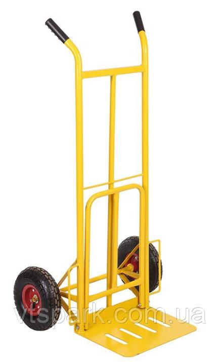 Тележка платформенная ручная грузовая, 180 кг, 1240х565х630 мм. Тележка ручная