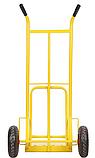 Тележка платформенная ручная грузовая, 180 кг, 1240х565х630 мм. Тележка ручная, фото 3