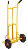 Тележка платформенная ручная грузовая, 180 кг, 1240х565х630 мм. Тележка ручная, фото 4
