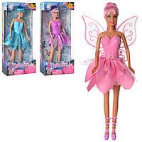 Кукла DEFA 8324 (12шт) фея, с крыльями, 29см, 3 вида, в кор-ке, 15-32-5,5см