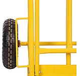 Тележка платформенная ручная грузовая, 180 кг, 1240х565х630 мм. Тележка ручная, фото 8