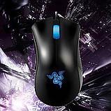 Миша ігрова дротова комп'ютерна Razer DeathAdder USB мишка для геймерів для комп'ютерних ігор, фото 6