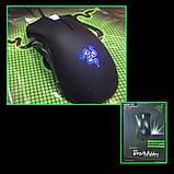 Миша ігрова дротова комп'ютерна Razer DeathAdder USB мишка для геймерів для комп'ютерних ігор, фото 8