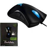 Миша ігрова дротова комп'ютерна Razer DeathAdder USB мишка для геймерів для комп'ютерних ігор, фото 10
