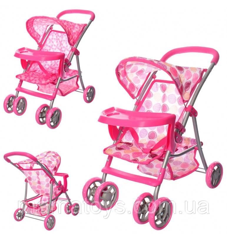 Лялькова коляска 9304 BW-T Melogo