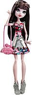 Кукла Monster High Дракулора Монстуристы Буу Йорк, Boo York Frightseers Draculaura Wolf, фото 1