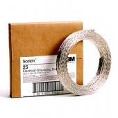 Медная лужёная лента (плетёная) 3M Scotch™ 25 (12.7 mm x4.57m.) заземляющая