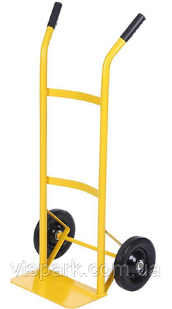 Тележка платформенная ручная грузовая, 80 кг, 1000х460х390 мм. Тележка ручная