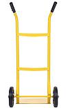 Тележка платформенная ручная грузовая, 80 кг, 1000х460х390 мм. Тележка ручная, фото 3