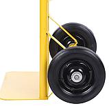 Тележка платформенная ручная грузовая, 80 кг, 1000х460х390 мм. Тележка ручная, фото 6