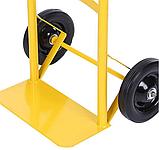 Тележка платформенная ручная грузовая, 80 кг, 1000х460х390 мм. Тележка ручная, фото 8