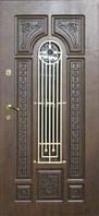 Дверь входная металлическая с ковкой Портала Русь