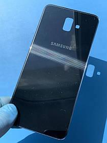 Задняя крышка для Samsung J610 J6 Plus черная