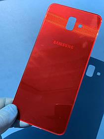 Задняя крышка для Samsung J610 J6 Plus красная