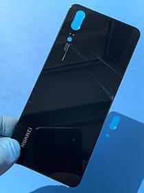 Задняя крышка для Huawei P20 черная