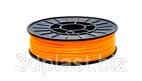 CoPET (PETg) пластик для 3D друку,1.75 мм, 0.75 кг, помаранчевий