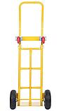 Тележка платформенная ручная, грузовая, 200 кг, 1200х470х540 мм., фото 4