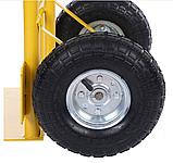 Тележка платформенная ручная, грузовая, 200 кг, 1200х470х540 мм., фото 9