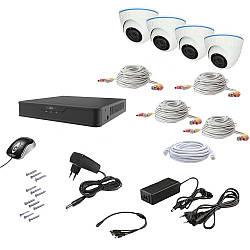 Комплект видеонаблюдения AHD 4IN 2MEGA