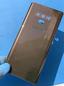 Задняя крышка для Samsung N960 медь (со стеклом камеры)