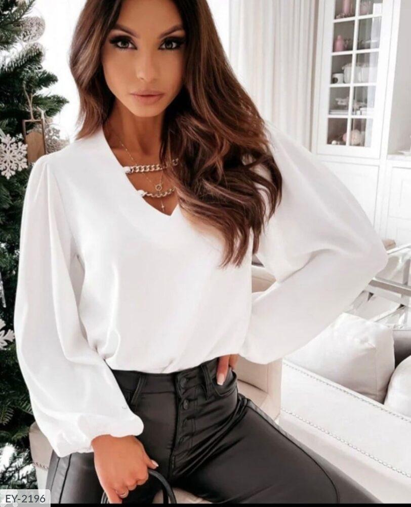 Блузка жіноча ділова красива модного крою р-ри 42-44,46-48 арт 0653