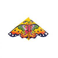 Воздушный змей M 3335 полиэтилен 120 см (Бабочка)