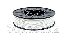 FLEX пластик для 3D печати,1.75 мм 0.7 кг, белый