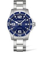 Мужские Часы LONGINES L3.742.4.96.6 Hydro Conquest 41 mm Blue Dial Automatic