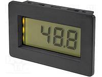 PAN.PM438BL (Измеритель с ЖК-дисплеем, с подсветкой, монтаж на панель)