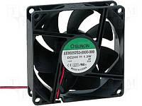 Вентилятор 80x80x25, 24V, (EE80252S3-999)
