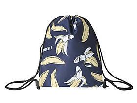 Пляжний рюкзак мішок з бананами