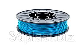 Нитка ABS (АБС) пластик для 3D принтера, 1.75 мм, бірюзовий