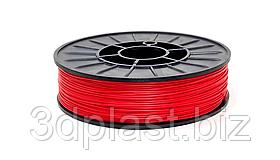 Нитка ABS (АБС) пластик для 3D принтера, 1.75 мм, червоний