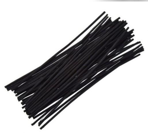 Палочки для аромадиффузора Fragrance Sticks черные 25 см комплект 50 шт