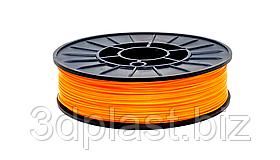 PLA пластик для 3D печати, 2.85 мм, 0.75 кг 0.75 кг, оранжевый