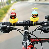 Резиновая утка на руль велосипеда/мотоцикла мопеда/самокат