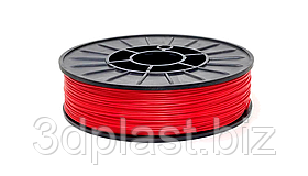 PLA (ПЛА) пластик 3Dplast для 3D принтера 1.75 мм 0.75, красный