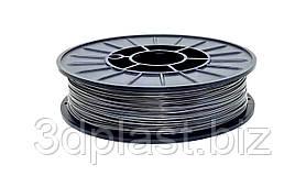PLA (ПЛА) пластик 3Dplast для 3D принтера 1.75 мм 0.85, серый-графит