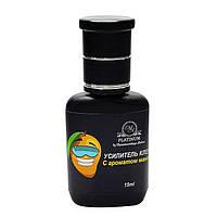 Усилитель клея для наращивания ресниц Platinum с ароматом манго, 15 мл