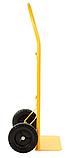 Тележка платформенная ручная, грузовая, 80 кг, 1000х460х360 мм., фото 2