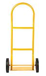 Тележка платформенная ручная, грузовая, 80 кг, 1000х460х360 мм., фото 4