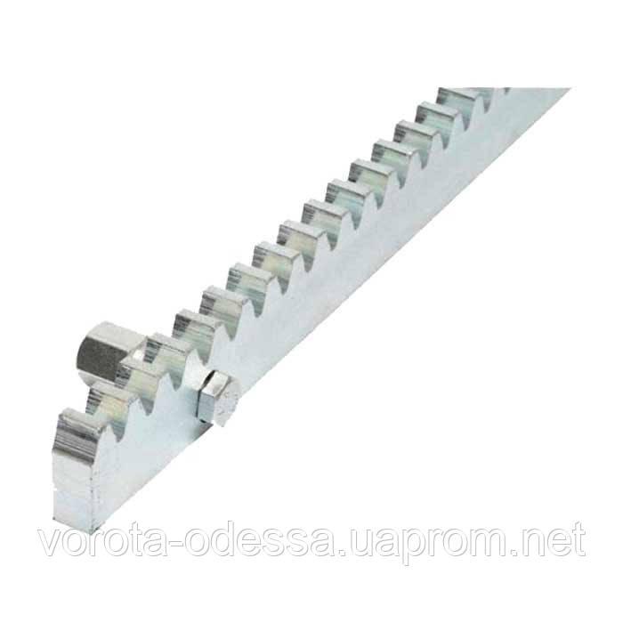 ROA8 зубчатая рейка М4 для откатных ворот (1м)