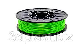 CoPET (PETg) пластик для 3D друку,1.75 мм, 0.75 кг, зелений-трав'яний