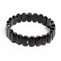 Браслет из шерла черного турмалина, 843БРШ, фото 1